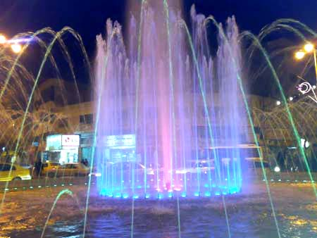Plaza Manara en Hebrón