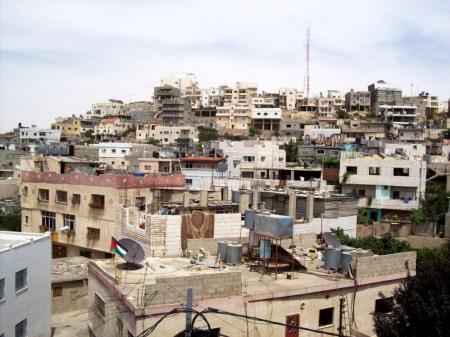 Deheishe refugee camp in Bethlehem