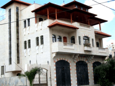 The Tayeh Building in Tulkarem