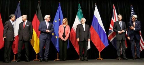 Iran Agreement in Vienna, July 14, 2015
