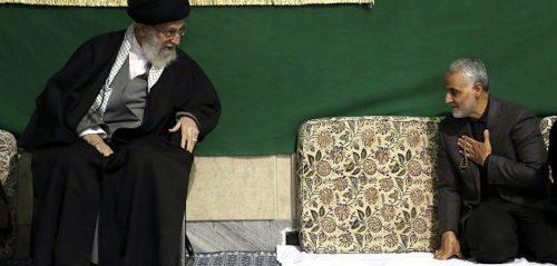 Ali Khamenei, Qassem Soleimani