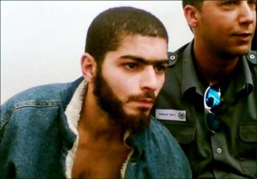 Nashat Milhem at an earlier arrest (IDF)