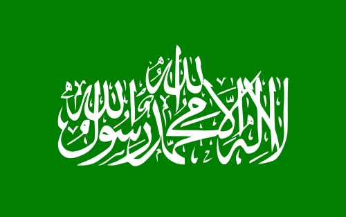 Hamas flag and color