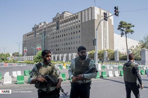 Terrorist incident in the Iranian Parliament