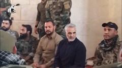 Iranian Quds-Force commander General Qasem Soleimani in Syria