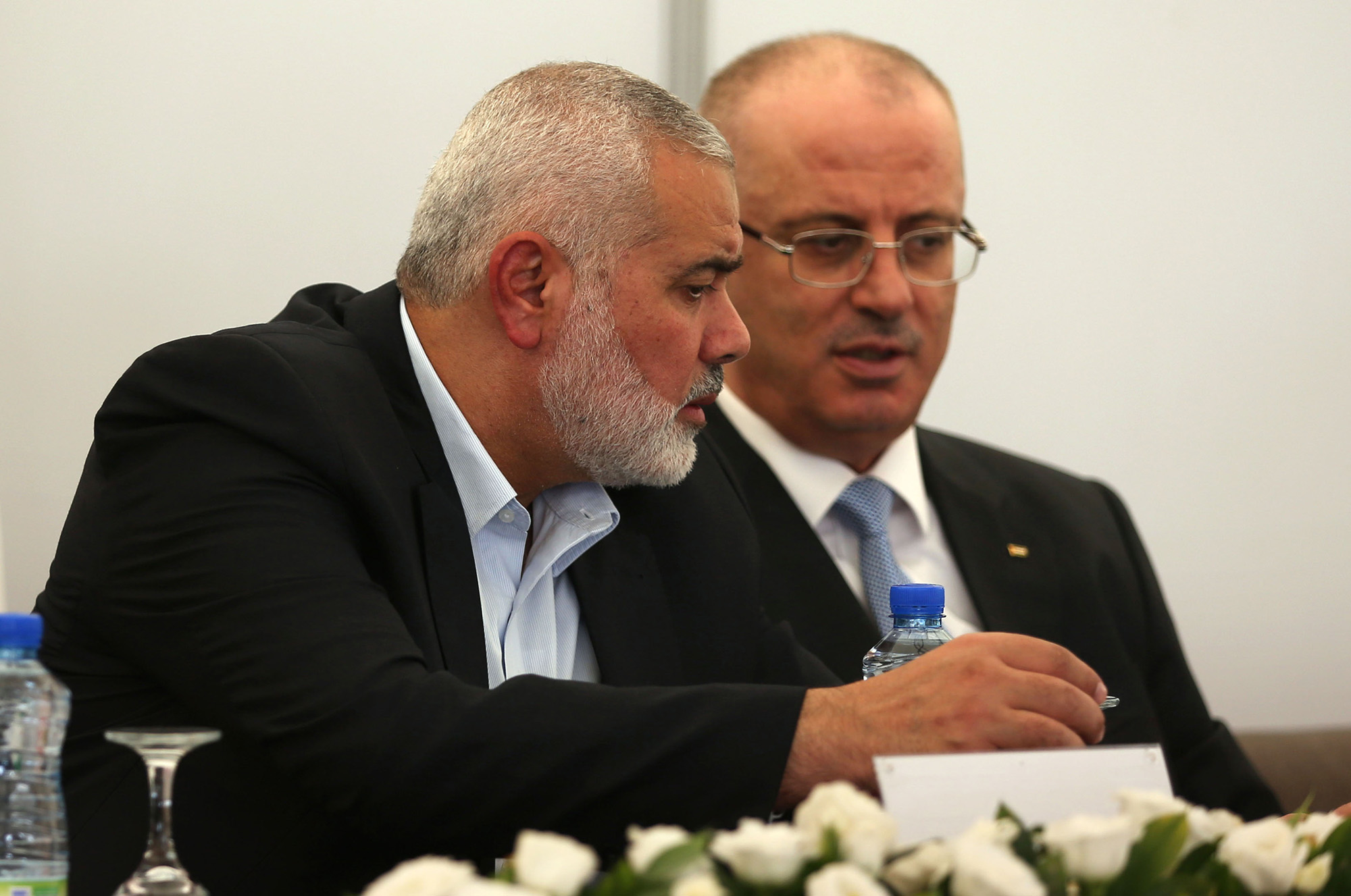 No peace talks with Palestinian government reliant on Hamas