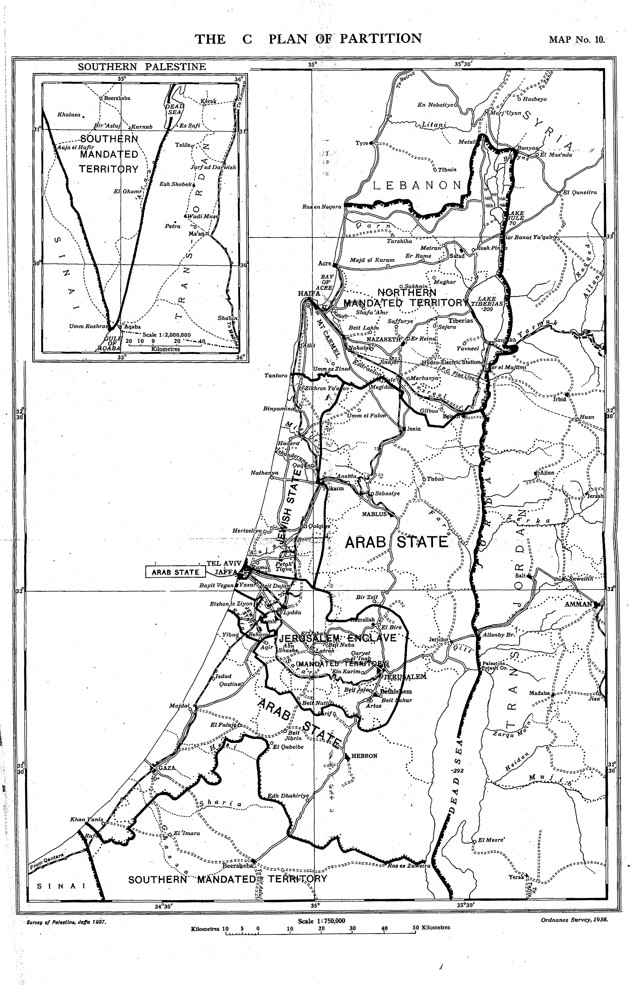 The Peel Commission Report of 1937 and the Origins of the Partition