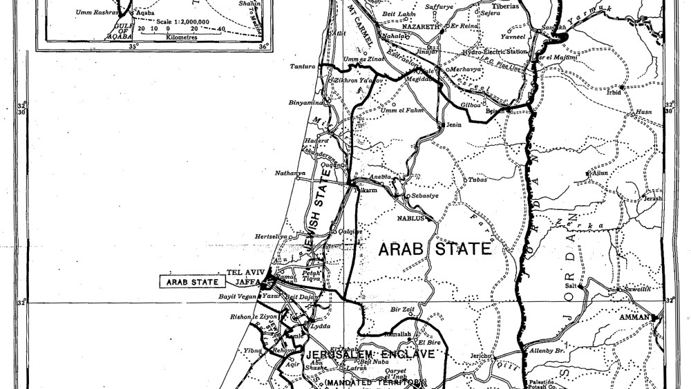The Peel Commission Report of 1937 and the Origins of the Partition Concept
