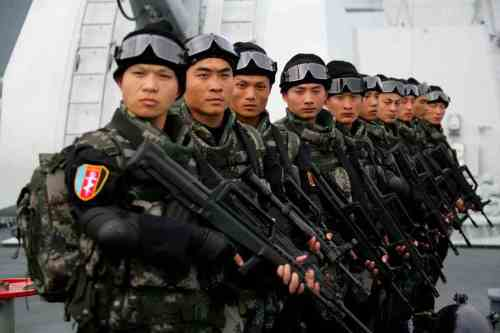 Chinese special forces in Syria's Tartous Port
