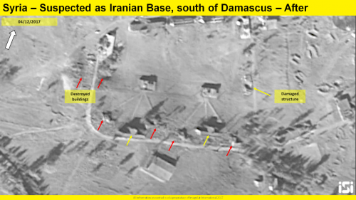 Iranian Base in Syria after