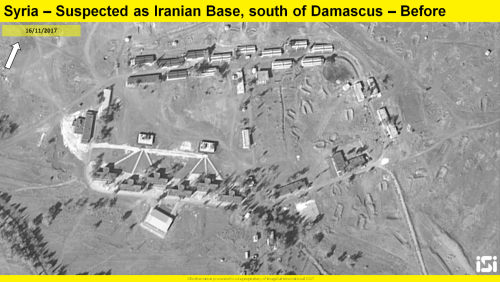 Iranian Base in Syria before