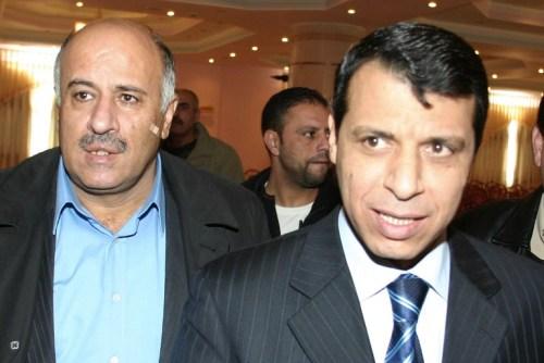 Jibril Rajoub and Muhammad Dahlan