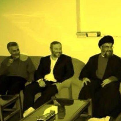 Qassem Soleimani, Imad Mughniyeh, and Hassan Nasrallah