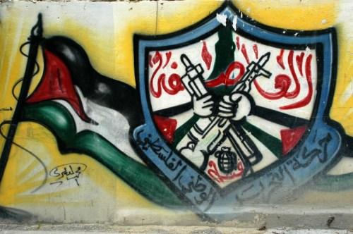 Fatah-Tanzim graffiti