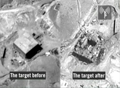 The Syrian reactor – before and after