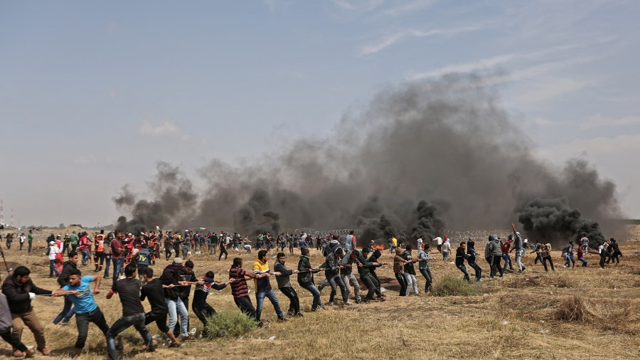 "Hamas' Warfare Tactics in the ""Great Return March"""