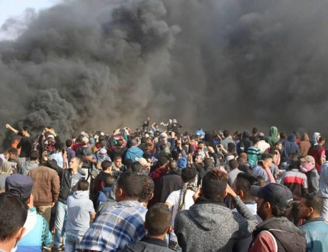 The Gazans' assault on Israel's fence, April 27, 2018