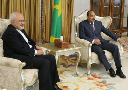 Javad Zarif and Mohamed Ould Abdel Aziz