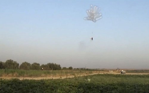 Gaza incendiary balloon