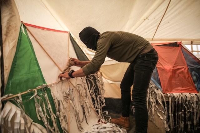 Gaza kite workshop