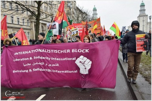 PFLP, Rosa Luxemburg Memorial Day, Berlin