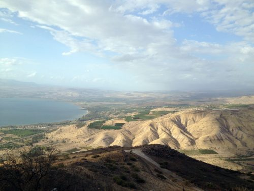 The Golan Heights plateau