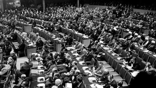 UN General Assembly meeting, 1949