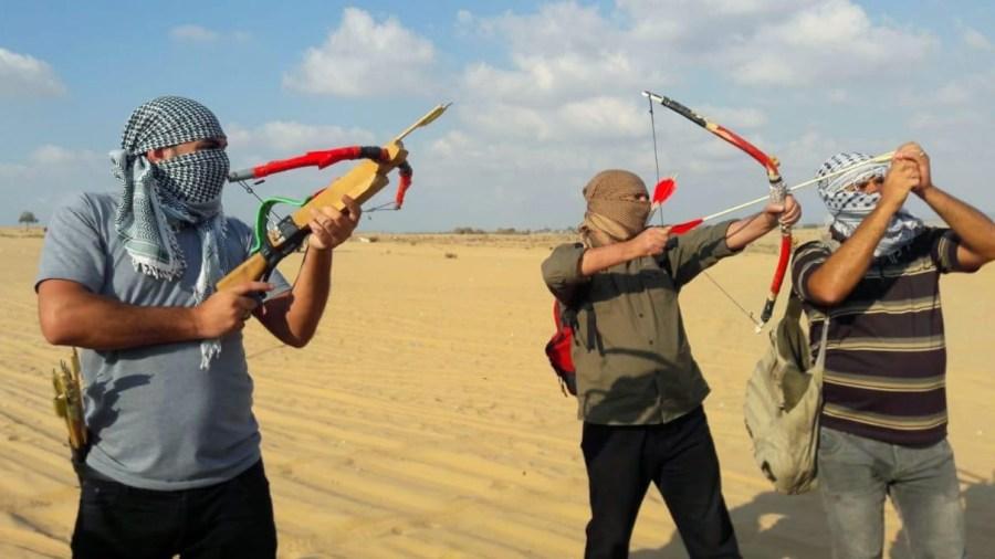 Hamas Probes Israel's Defenses