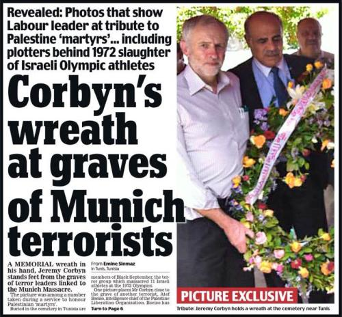 The front page of the Daily Mail (UK)