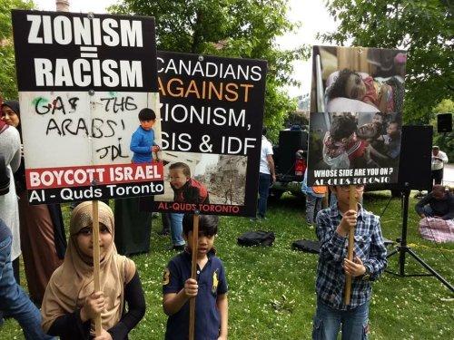 Al-Quds Day demonstration in Toronto on June 9, 2018.