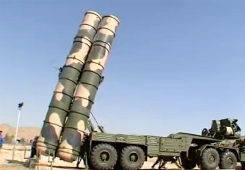 Russian-made S-300 anti-aircraft system
