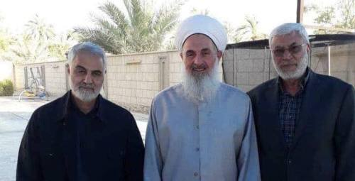 Abu Mahdi Al-Muhandis with Soleimani