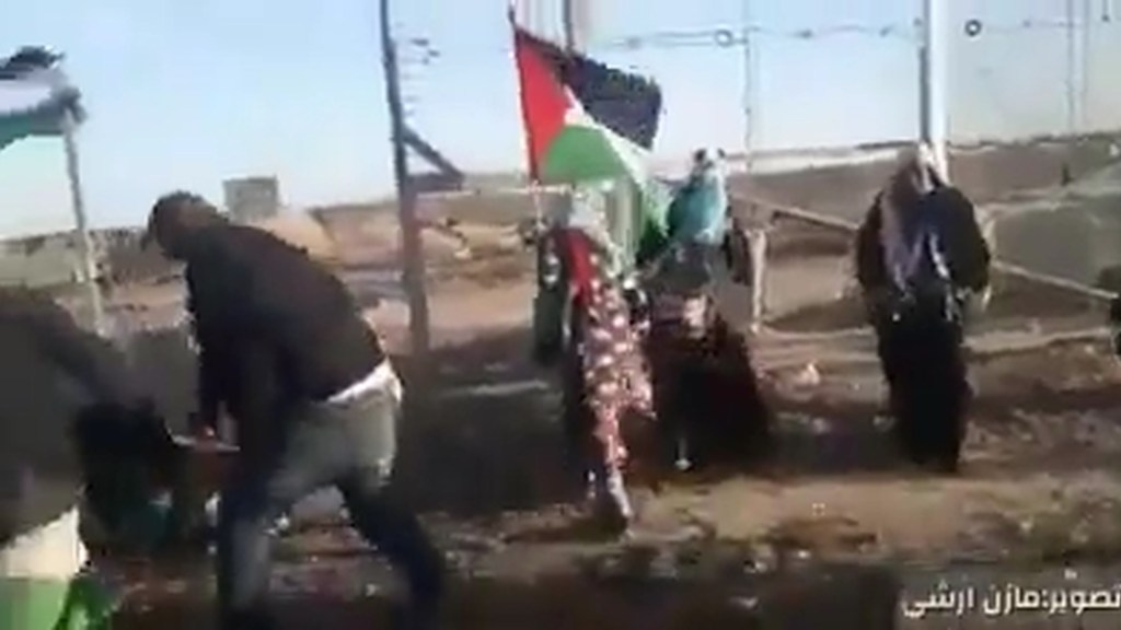 Violence at the Gaza Border Continues
