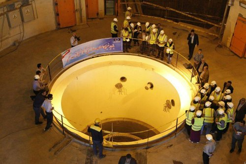 Arak Heavy Water Reaction in Natanz