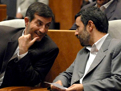 Ahmadinejad and Mashaei
