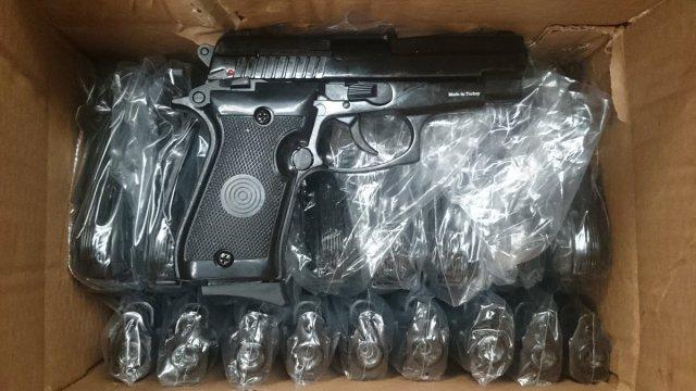 Automatic pistols