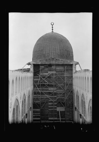 Al Aqsa Mosque after removal of rafters