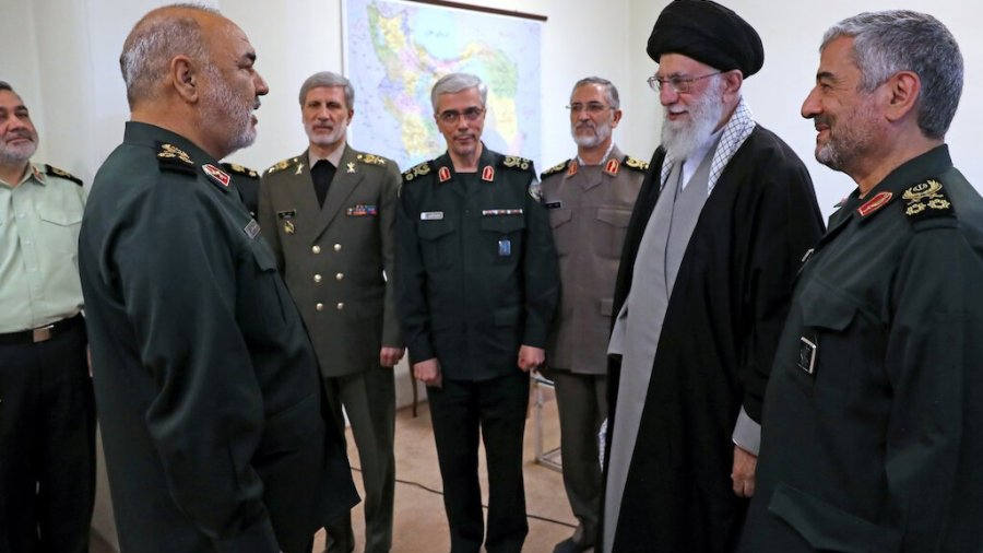 Iran's New Revolutionary Guards Commander Threatens the U.S. and Israel