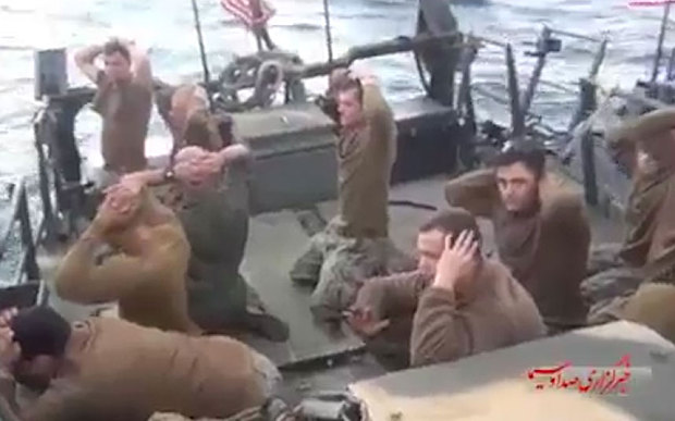 Captured U.S. Navy sailors, January 2016