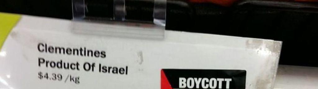 "Oshawa anti-Israel activist: ""I have struck Freshco"" with BDS stickers"