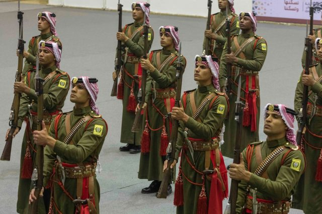 Members of the Jordanian army