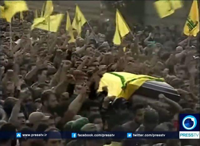Mustafa Badr al-Din's funeral