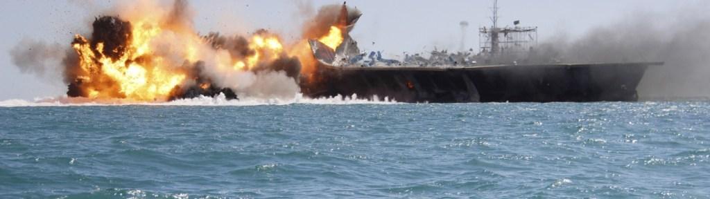 Iranian Revolutionary Guard Officials Threaten to Sink U.S. Naval Vessels