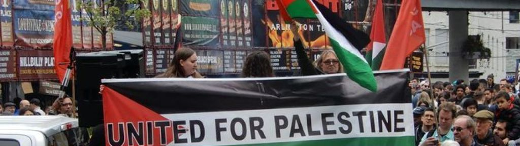"Toronto: Protest against ""settlement projects that plunder rights of Palestinians"""