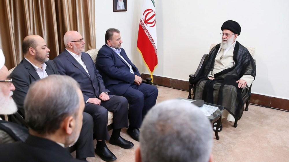 "Hamas Delegation in Iran to Discuss ""Regional Crisis"""