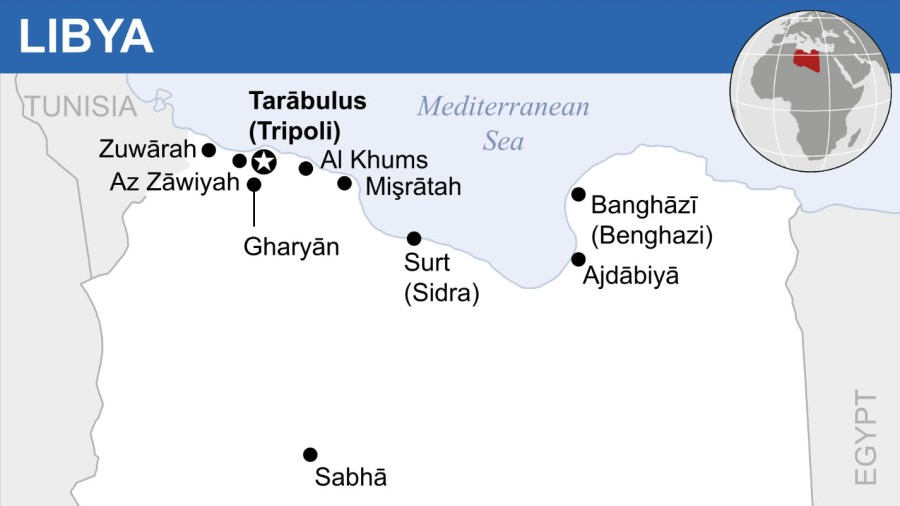 The Civil War in Libya Is the Battleground for Several Countries