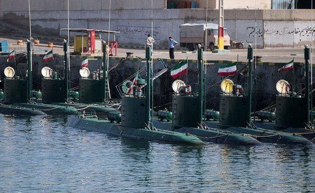 Iran's Ghadir midget-submarine