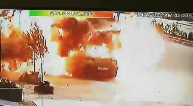 Airstrike on Hizbullah vehicle in Syria near the border with Lebanon