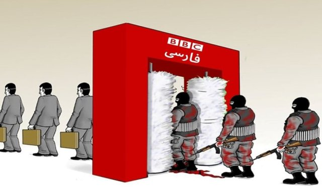 Criticism of the BBC in Persian