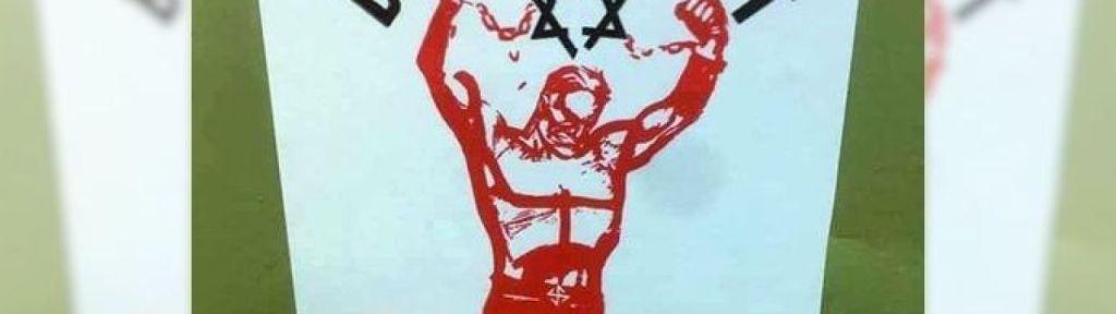 Antisemitic stickers found in Kitchener, Ontario